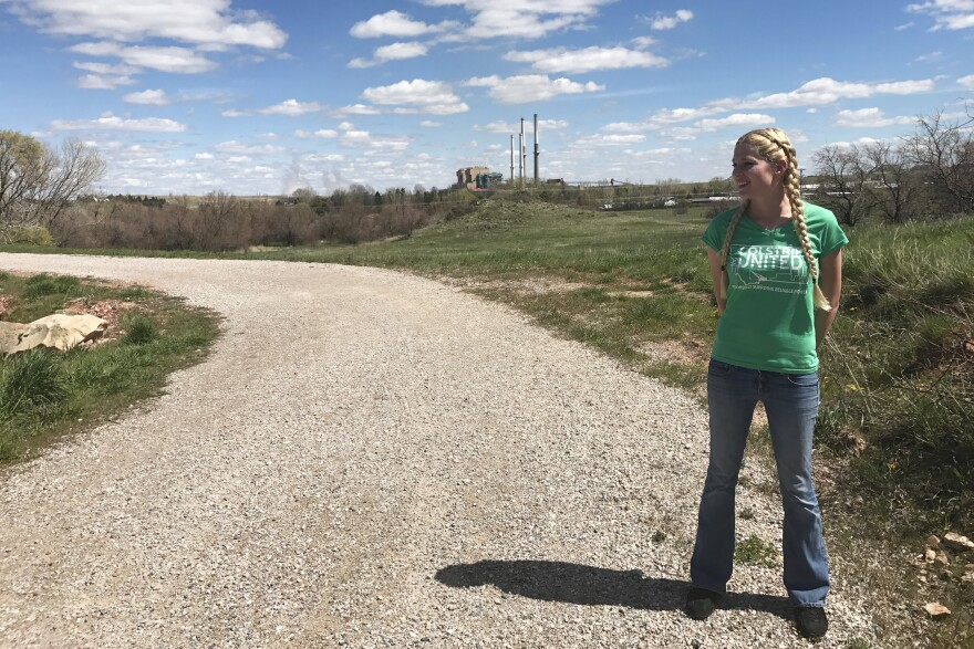 """Lori Shaw, the co-founder of Colstrip United, tries to elevate pro-coal voices in the wider energy debate and show the human side of America's transitioning energy systems. """"We are people out here,"""" she says."""