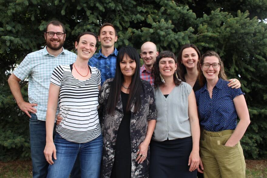 Photo of news bureau team.