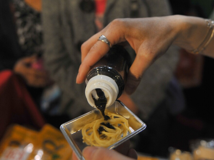 Keep the soy sauce on your food, and use it in moderation.