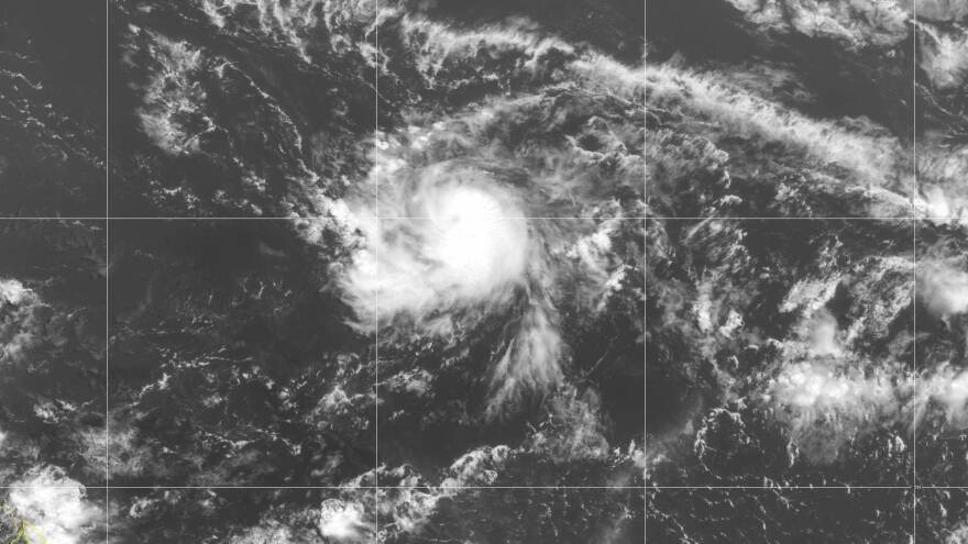 "Tropical Storm Gonzalo has formed in the central Atlantic Ocean and is the earliest ""G"" storm on record."