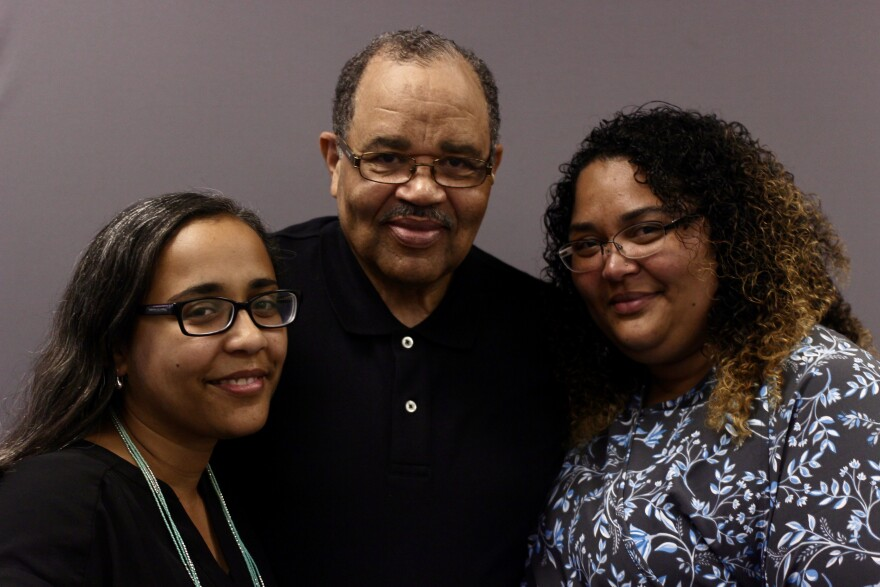 Jennifer Lobo, Herman Webb, and Samantha Webb