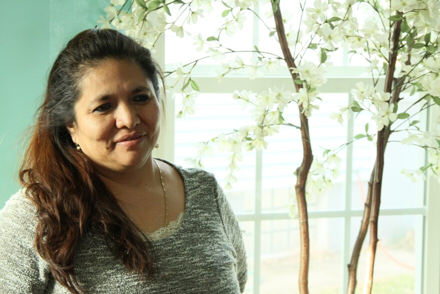 Nube came to the United States from Ecuador in her late 20s. latino