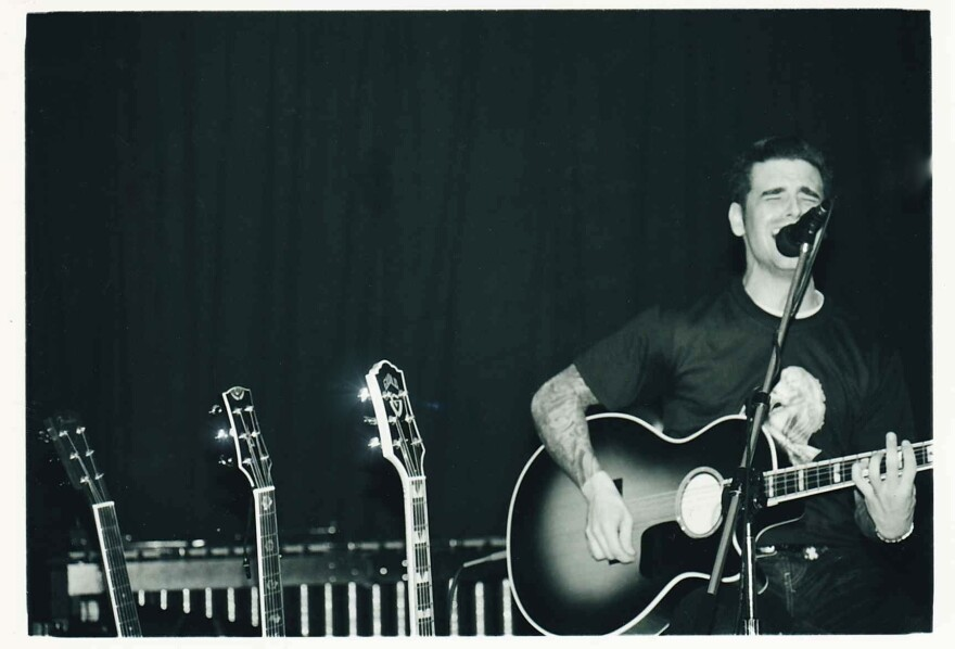 Chris Carrabba performs as Dashboard Confessional in Davie, Fla., circa 2000.