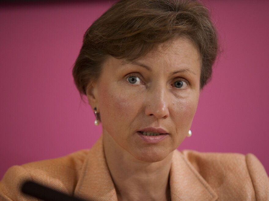 """Marina Litvinenko, the widow of former Russian intelligence officer Alexander Litvinenko, says she is """"relieved and delighted"""" with the U.K. government's decision to open a public inquiry into the former KGB agent's death in 2006 by radiation poisoning."""