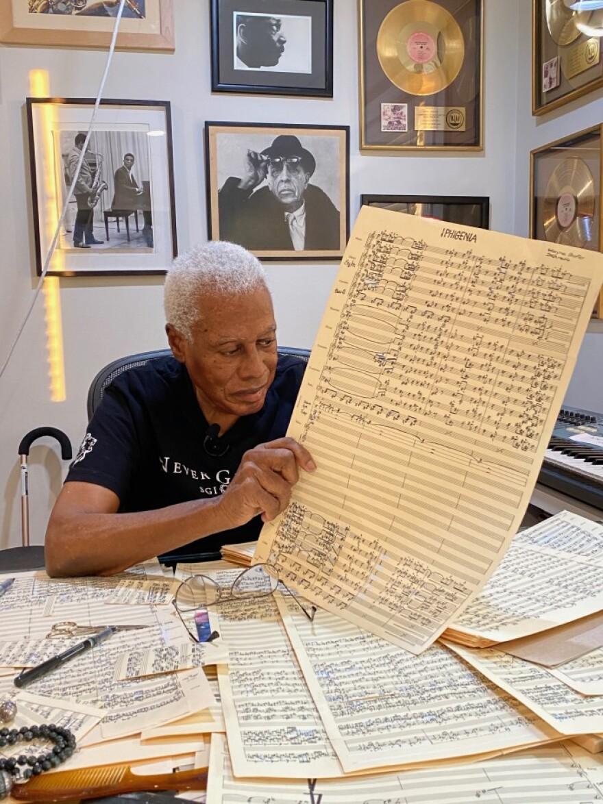 Wayne Shorter, composer of the opera 'Iphigenia'