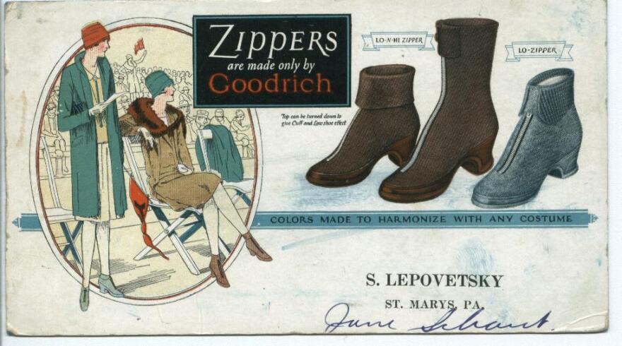 zippered boots from goodrich