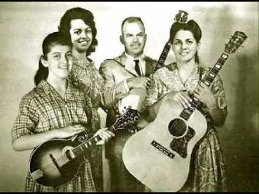 Rex and Eleanor Parker recorded with their daughters as The Parker Family