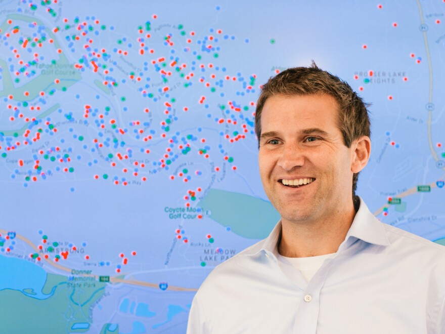 Entrepreneur Ulrik Binzer is helping more than 300 cities and towns in the U.S. and Canada enforce rules for short-term rentals.