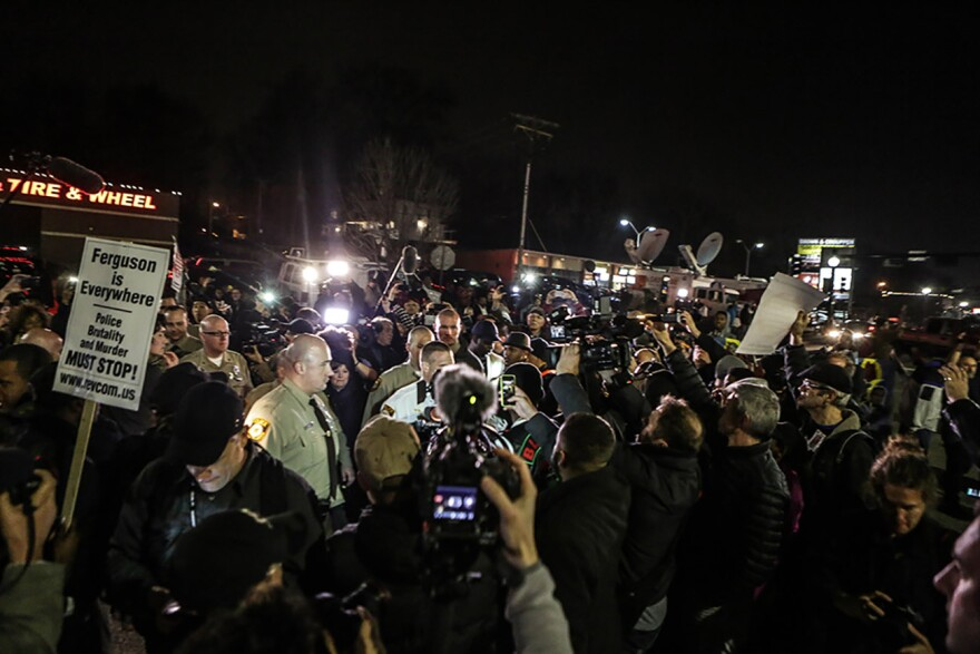 Ferguson protest 3/12/2015