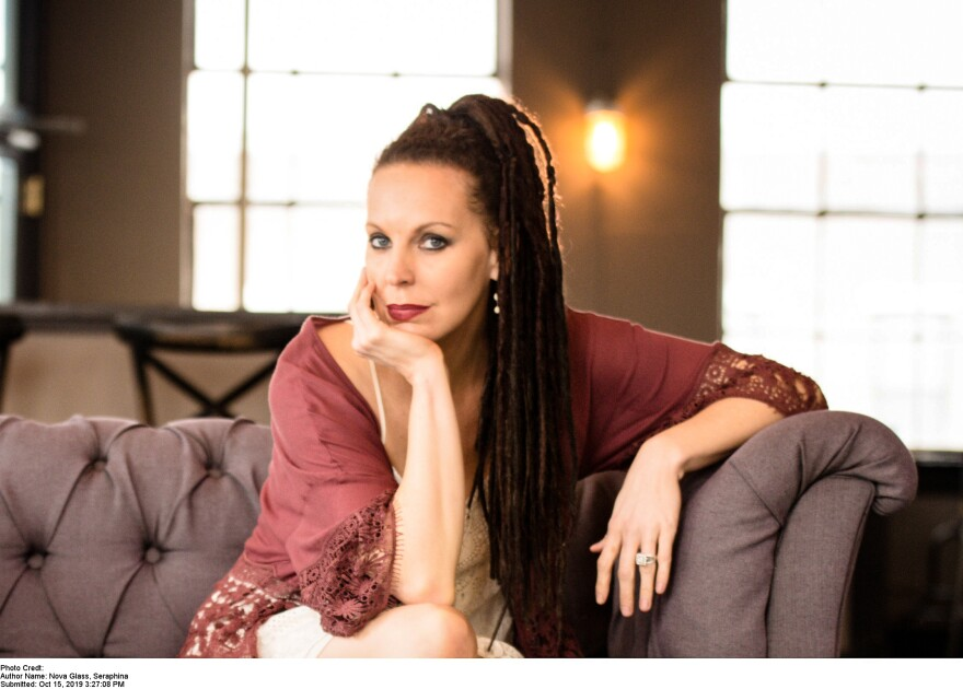 "Seraphina Nova Glass author of ""Someone's Listening"""