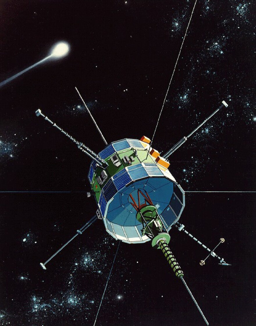 Whatever name it sailed under — International Sun-Earth Explorer 3, and International Cometary Explorer, among others — this spacecraft has scored a number of firsts over the years, including the first comet flyby.