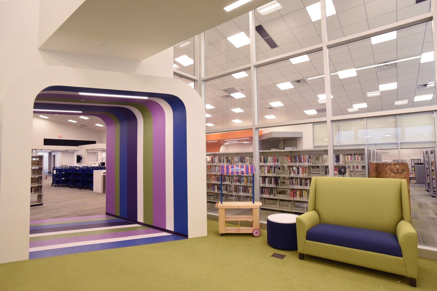 About 38% of the part-time workers who were laid off in August were people of color. The Cliff Cave branch, shown here after renovations in 2016, is one of 20 branches that make up the library system.