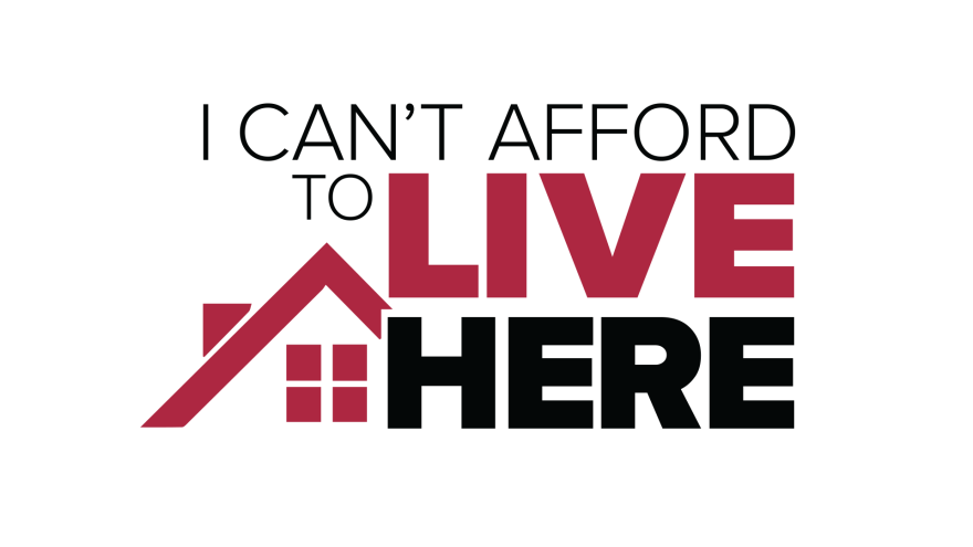 I Can't Afford To Live Here logo