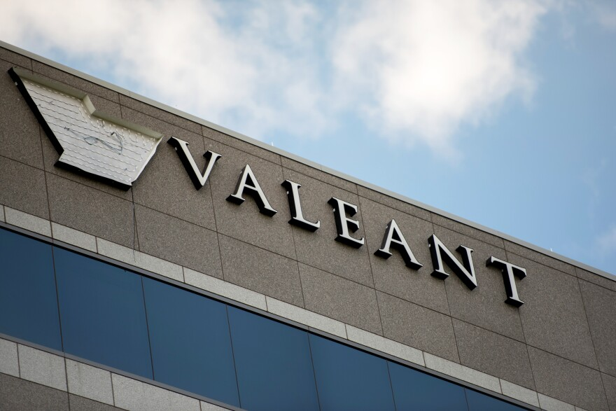 Valeant Pharmaceuticals, based in Bridgewater Township, N.J., bought two specialty heart drugs used in emergency treatment from Marathon Pharmaceuticals in 2015, and then dramatically increased each drug's price.<strong> </strong>