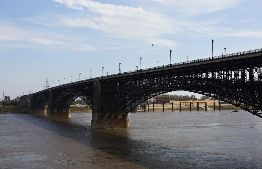 The public is invited to a celebration of the Eads Bridge on its top deck, starting Friday morning at 10 a.m.