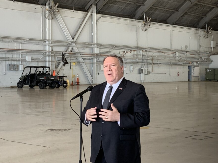 Appearing at U.S. Central Command headquarters in Tampa, Secretary Pompeo addressed the recent decision to send 1,000 more troops to the Middle East amid growing tensions with Iran.