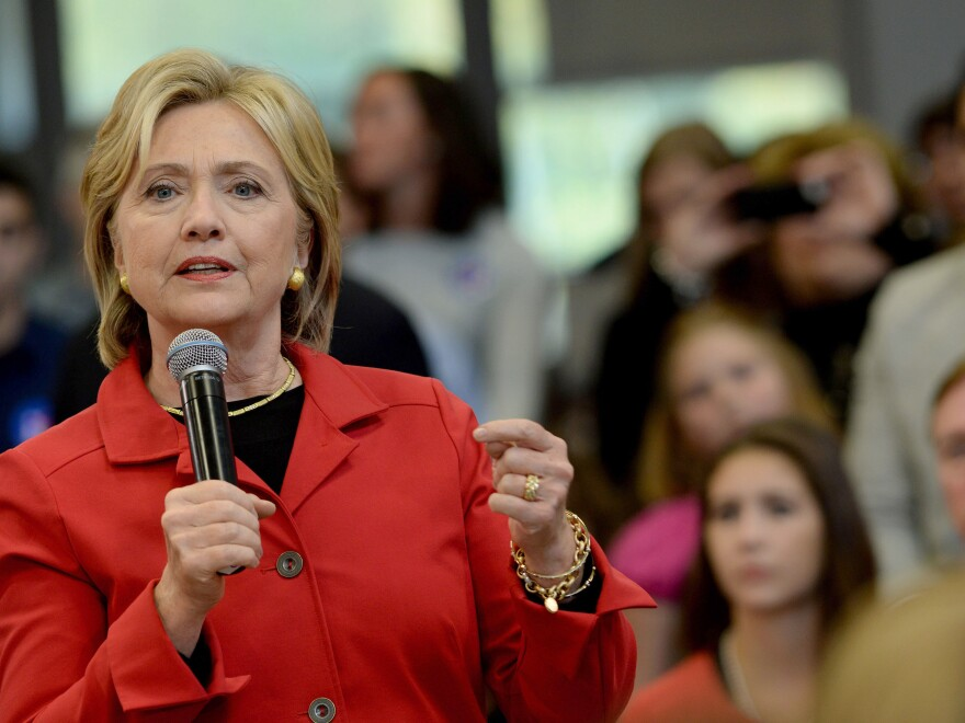 Clinton wants gun manufacturers to be held more liable for crimes committed with their weapons.