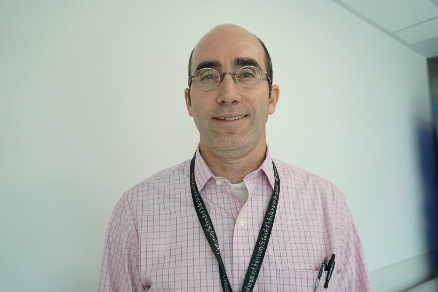 Jason Newland, a doctor at St. Louis Children's Hospital.