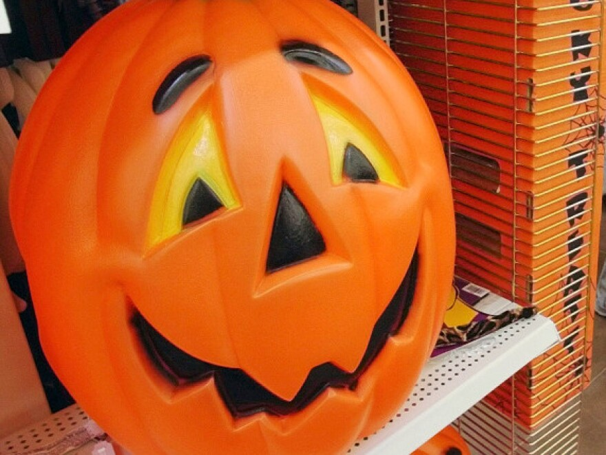 Stores try to get a leg up on their competition by putting seasonal merchandise out early.