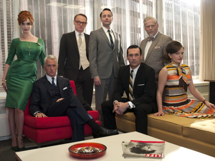 "The staff of Sterling Cooper Draper Pryce returns to TV with what David Bianculli calls ""a cocky confidence."""