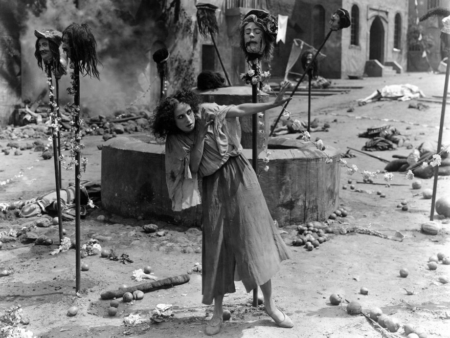 The internationally renowned ballerina Anna Pavlova plays the mute girl at the center of Lois Weber's <em>The Dumb Girl of Portici </em>(1916), one of two Weber films recently restored and reissued.
