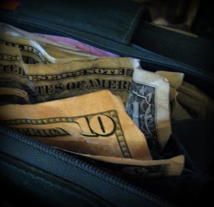 WLRN MONEY IN PURSE