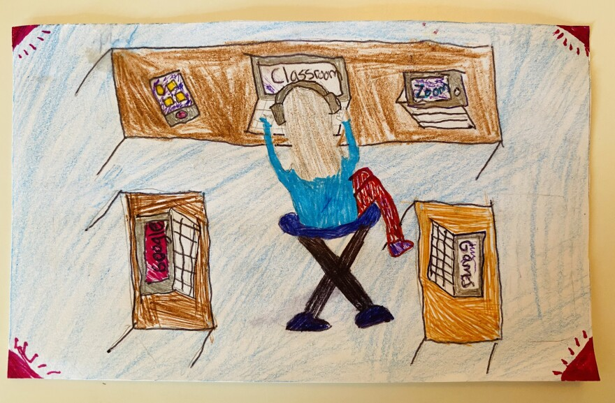Fourth-grader Lucia in Brooklyn, N.Y., told us she is dealing with too much screen time.