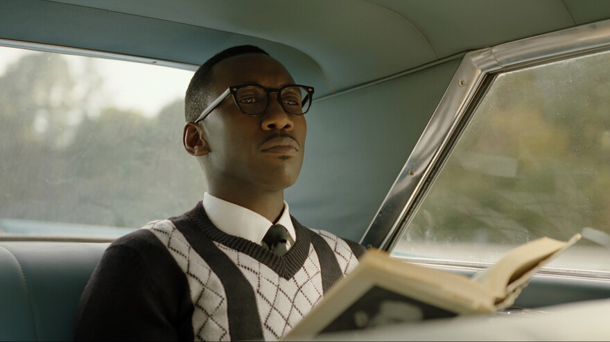 Mahershala Ali as musician Donald Shirley in <em>Green Book</em>, directed by Peter Farrelly.
