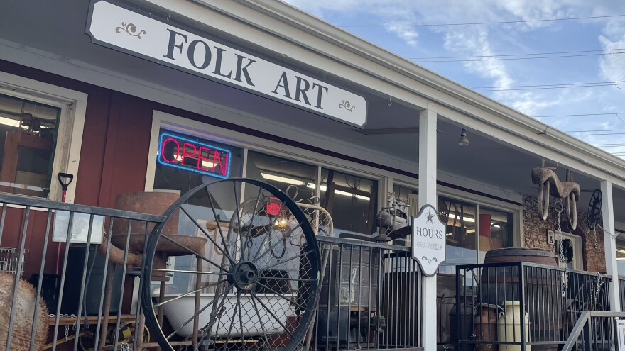 The Farmer's Co-op Antique Mall in Redmond, Ore., included, until recently, a vendor selling Nazi memorabilia and racist caricatures.