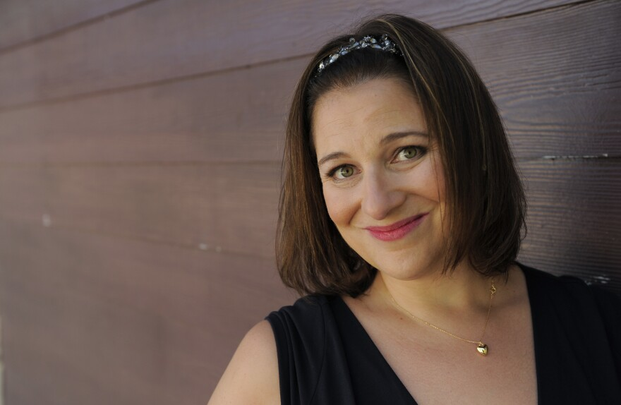 Jennifer Weiner poses for a portrait at CBS Studios in Los Angeles, on June 29, 2011.