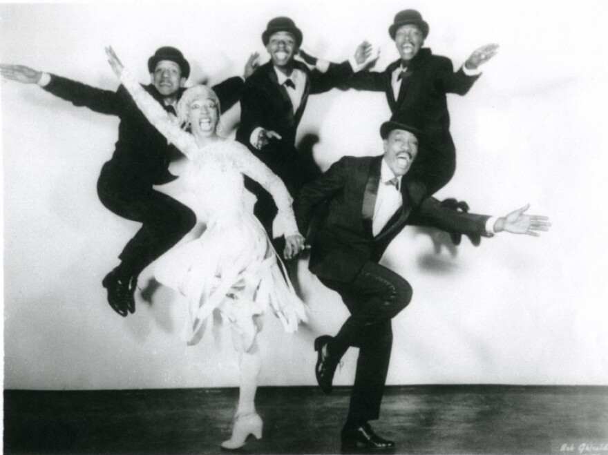 Norma Miller (in white) says that, by the time the '20s came along, people were searching for a new style of dance. Together with the Lindy Hoppers, Miller helped supply a swinging alternative.