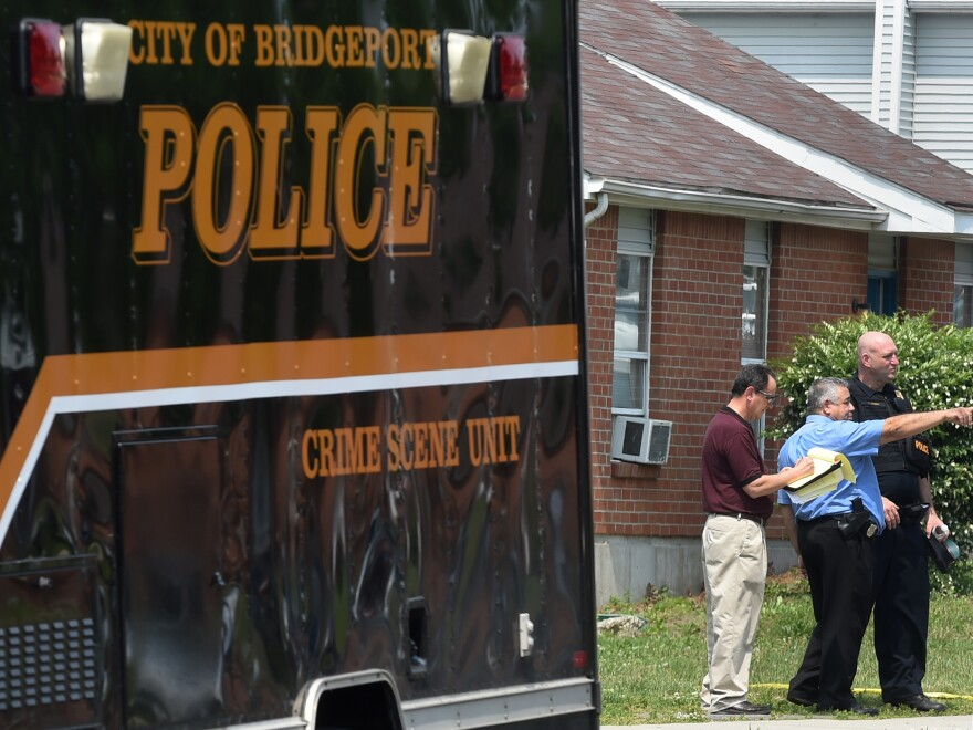 While more than 60 percent of Bridgeport, Conn.'s residents identify as black or Hispanic, the city's police department is majority white. So officials changed the written test and Bridgeport residents got a 15 percent bonus on their scores.