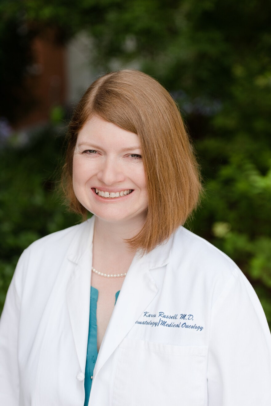 TMH Oncologist Dr. Karen Russell