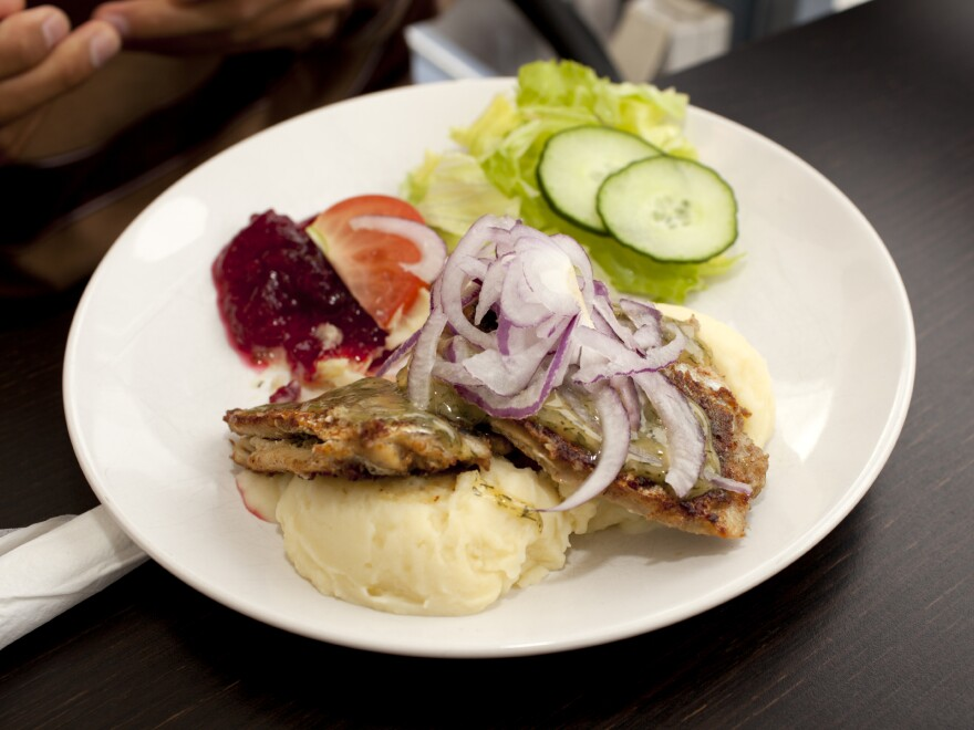 A typical Swedish meal of fried herring and lingonberries includes some of the local ingredients of the healthy Nordic diet prescribed in a new study.