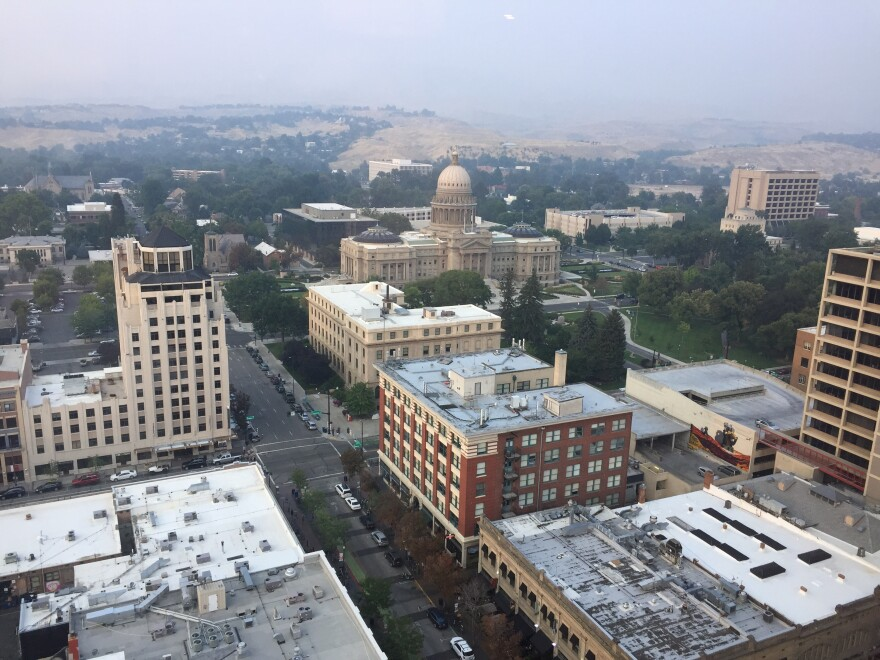 At times, Boise struggles with poor air quality because of winter inversions.