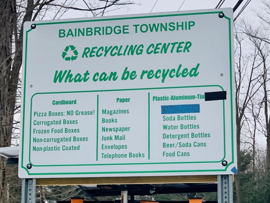 Bainbridge Township recycling center