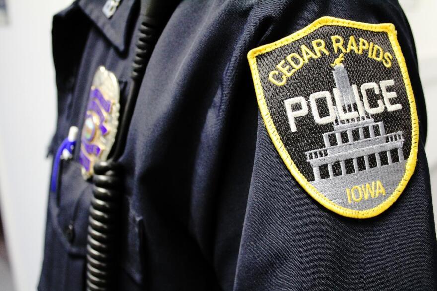 cedar rapids police patch