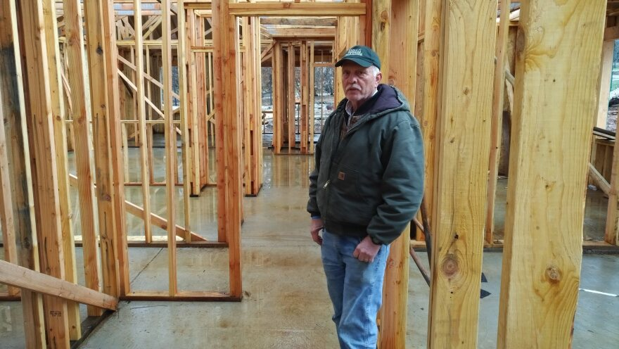 David Anderson is a property owner and builder in Paradise, Calif. He expects the housing market to eventually come back after the Camp Fire burned nearly 90 percent of the town to the ground.