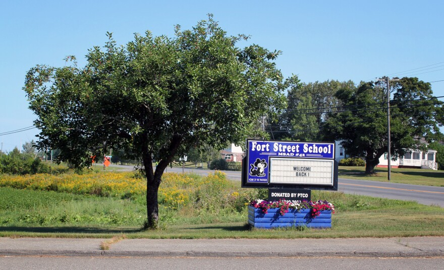 Fort Street Elementary School in Aroostook County, Maine, welcomed students back to school for in-person classes in mid-August.