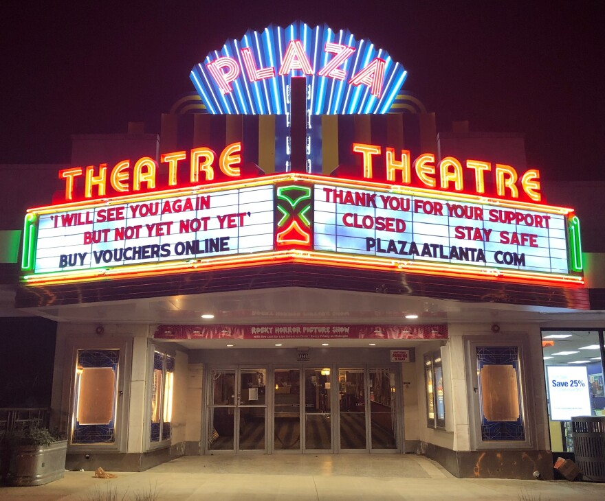 "In Georgia, Gov. Brian Kemp has authorized the opening of theaters, but Chris Escobar, owner of the <a href=""https://plazaatlanta.com/"">Plaza Theatre</a> in Atlanta, won't be unlocking the doors quite yet. ""I'm not forcing my employees to choose between their livelihoods and their lives,"" he says."