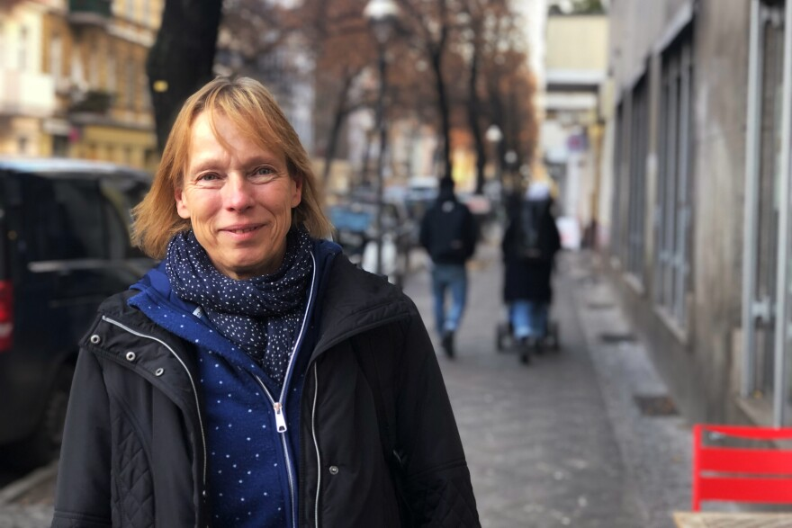 Petra Henkert, manager of a Berlin Santa Claus agency, says the number of Santas she employs in Berlin has dropped precipitously in the past two years.