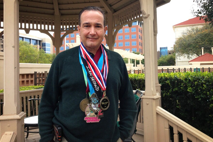 A few years ago, cancer survivor James Eversull was told that he needed to lose weight and exercise. He took his doctor's orders seriously and today is an avid marathon runner.