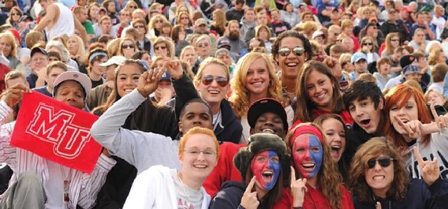 Malone University Pioneer fans