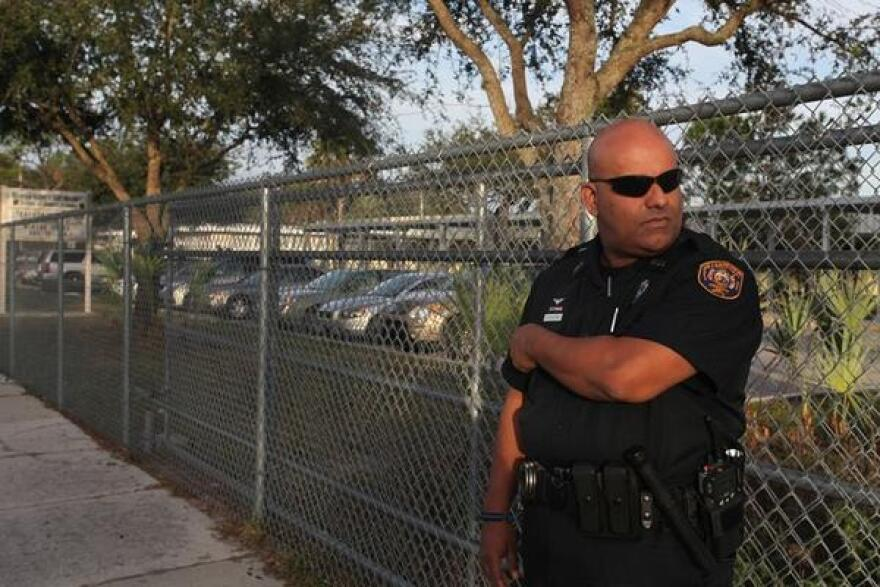 About 3,000 law enforcement officers and 900 guardians assigned to Florida schools.