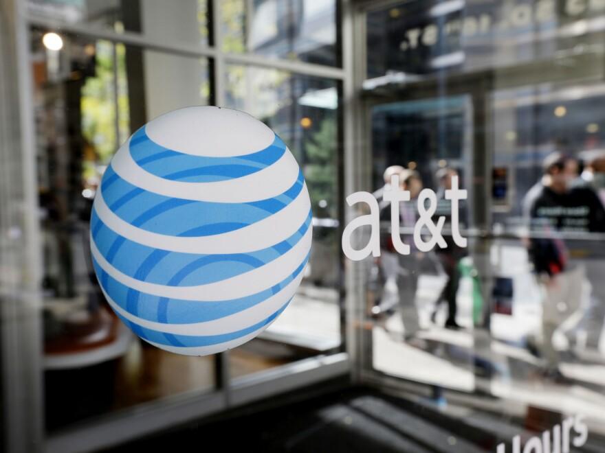 An AT&T Wireless store in Philadelphia.
