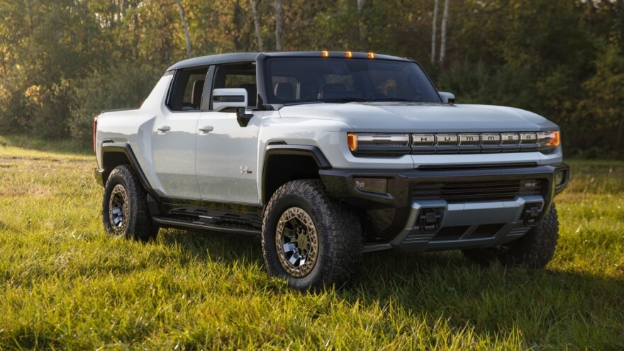 The GMC Hummer EV is set to begin production in late 2021.