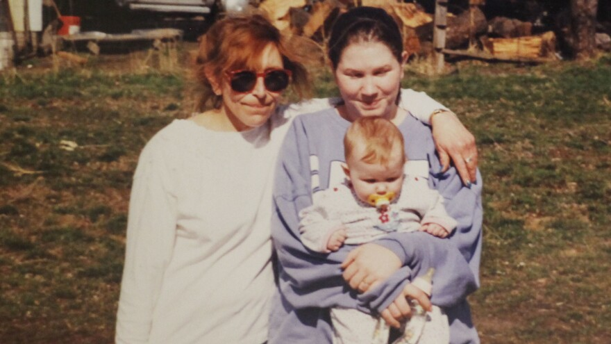 Carolyn DeFord poses with her mother and daughter in La Grande, Oregon in their last photograph together before Leona disappeared in 1999.