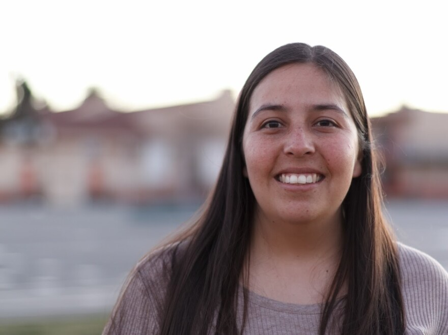 Miriam Gonzalez, a plaintiff in a case that sued the Trump Administration for ending DACA.