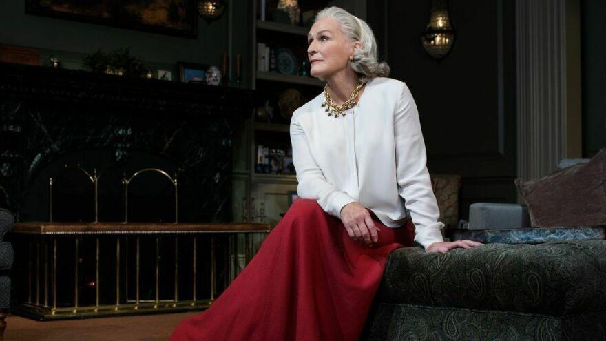 Glenn Close stars as Agnes in Edward Albee's play <em>A Delicate Balance.</em>