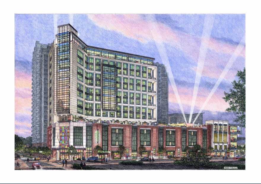 Ten Tryon will break ground this spring on North Tryon Street between 9th and 10th streets.
